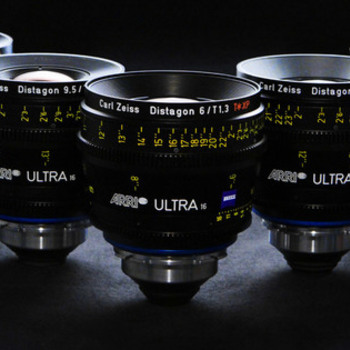 Rent Zeiss Ultra Prime Lens Kit(T1.9 16,24,32,50,85mm)