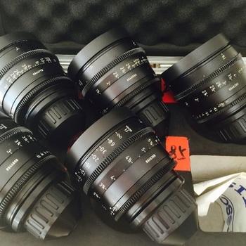 Rent ARRI Ultra Prime Lenses T1.9 (16/24/32/50/85mm)