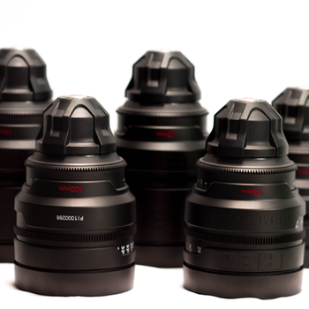Rent RED PRO Prime Lenses (18/25/35/50/85 or 100mm)