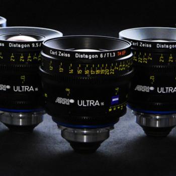 Rent Zeiss Ultra Prime 5 Lens Set