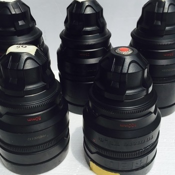 Rent RED Pro Primes lens set (18,25,35,50,100)