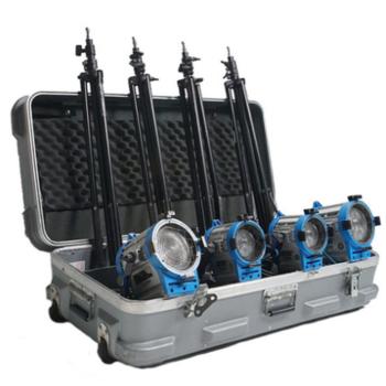 "Rent ARRI 1K light kit, stands, grip crate, 17"" monitor, tvlogic"