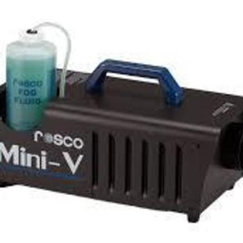 Rent ROSCO mini-v fog machine