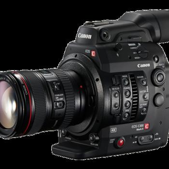 Rent Canon c300 mark ii w/ 24-70mm (Tank Studios)