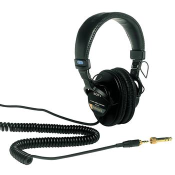 Rent Sony MDR-7506 Studio Monitor Headphones