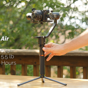 Rent Moza Air camera gimbal with remote and dual handles