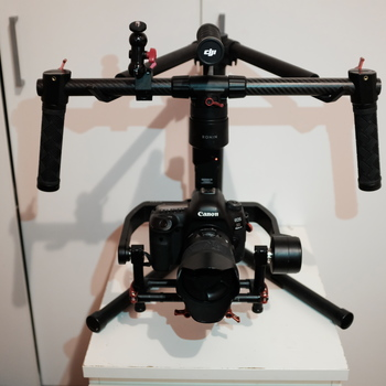 Rent DJI Ronin M stabilizer with monitor and backpack.