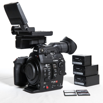 Rent Canon C300 Mark II + Batteries & 256gb Cards