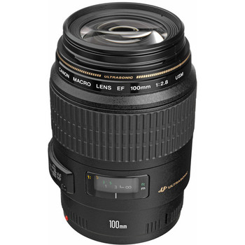 Rent Canon EF 100mm f/2.8 Macro USM Lens