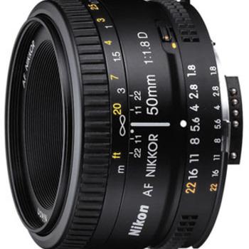 Rent Nikon 50mm 1.8