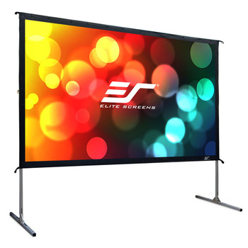 "Rent 135"" 16:9 Rear Projection Screen With Frame"
