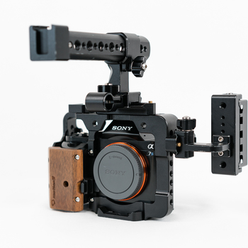 Rent Sony A7s with Camera Cage