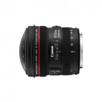 Rent Canon 8-15mm f/4 Fisheye