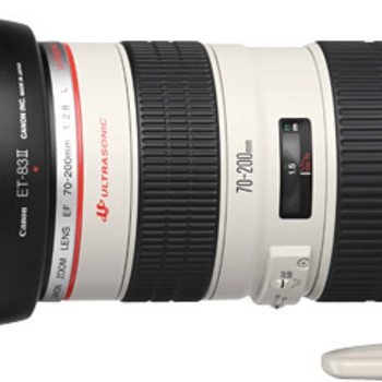 Rent Canon 70-200 f2.8L with Canon 2x Extender kit