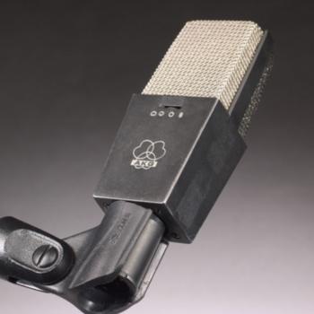 Rent AKG C414 Portable Package w/ Pop Filter