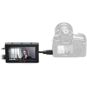 "Rent BlackMagic Video Assist 5"" with FOUR Batteries"