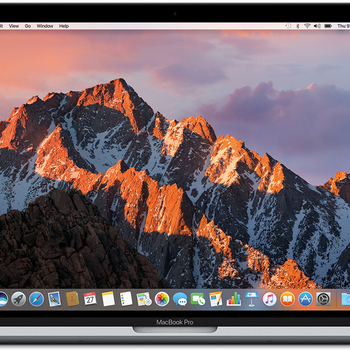 "Rent 15"" MacBook Pro 2017 (3.1GHz, 16GB RAM, 4x Thunderbolt 3 ports w/ hub and adapters)"