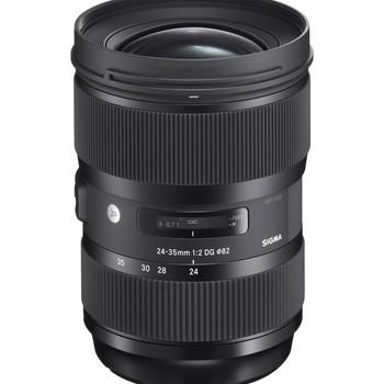 Rent Sigma Art 24-35f 2 Art Canon