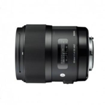 Rent Sigma 35mm 1.4 Art