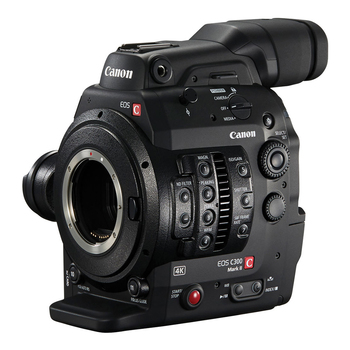 Rent C300 Mark II (basic kit with 128GB card)