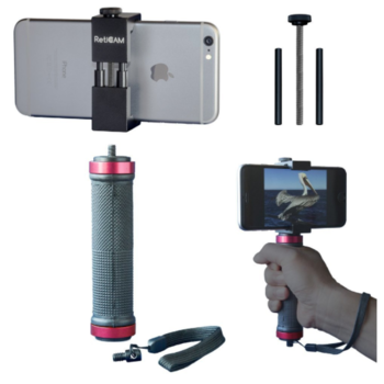 Rent RetiCAM Universal Smartphone Mount and Pistol Grip