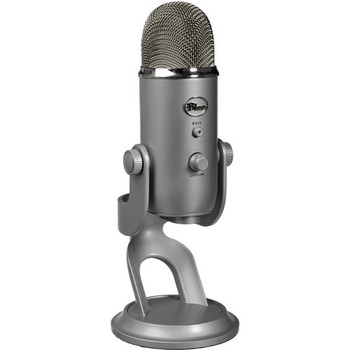 Rent Blue Yeti USB Mic + Pop Filter