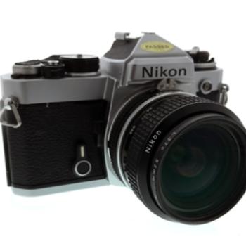 Rent Nikon FE 35mm Film SLR + Nikon 28mm f/2.8 AI Prime Lens