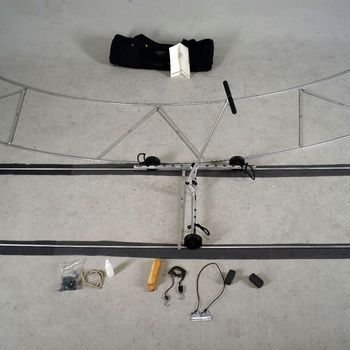 Rent  13' Dolly with Straight and Curved Track