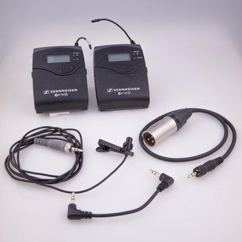 Rent Sennheiser EW 100 G2 Wireless Lav Mic Kit