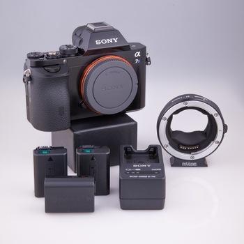 Rent Sony A7s Camera Kit w/EF Metabones Adaptor
