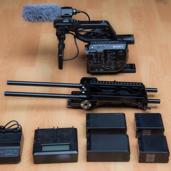Rent Sony FS5 Kit with Raw Upgrade