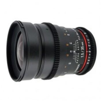 Rent Rokinon 35mm T1.5 CINE