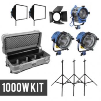 Rent Arri Fresnel Kit: (2) Arri 1000w and (1) Arri 650w Chimera Softbox Light Kit