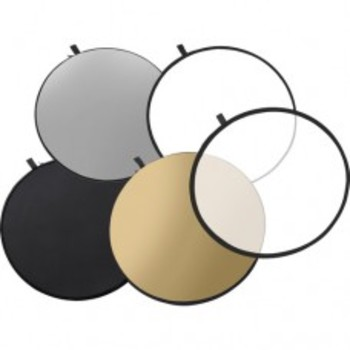 "Rent 5-in-1 Collapsible Reflector Disc (22"")"
