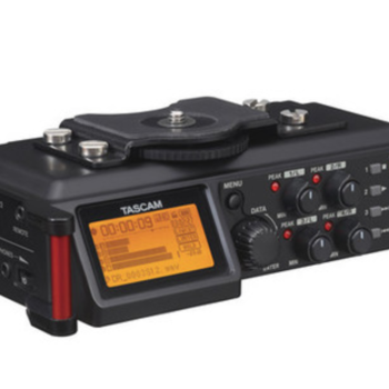 Rent Tascam DR-70D 4-Channel Audio Recording Device