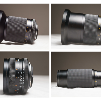 Rent Contax Zeiss Set of Primes and Zooms