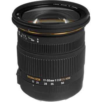 Rent Sigma 17-50mm f/2.8 EX DC OS HSM Zoom Lens (EF Mount)