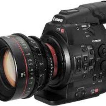 Rent C300 Mark II Production Package including Cine Primes, Zooms, Monitor, Tripod
