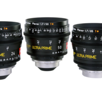 Rent ARRI Zeiss ULTRA PRIMES (3 x Brand New Lenses in Pelicase)