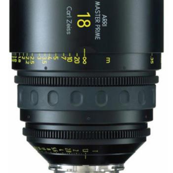 Rent ARRI Master Prime 18mm T1.3