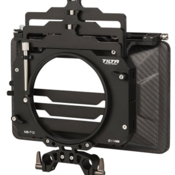 Rent TILTA MB-T12 MATTE BOX CARBON FIBER 3 STAGE PV CLAMP + 15mm