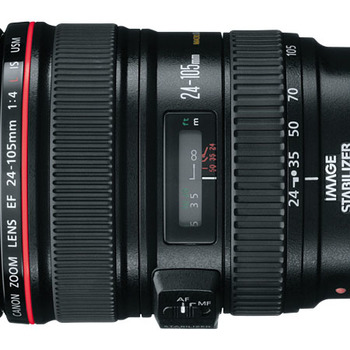Rent Canon EF 24-105mm f/4L IS USM Zoom Lens + Soft Case