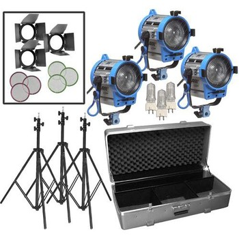 Rent ARRI 650W Fresnel Compact 3-Light Kit