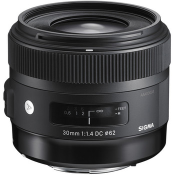 Rent Sigma 30mm f/1.4 DC HSM Art Lens for Canon
