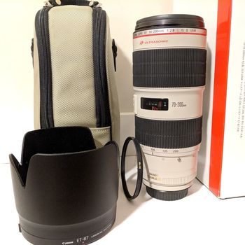 Rent Incredible Canon EF 70-200mm f2.8L IS II USM