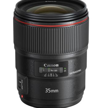 Rent Canon EF 35mm f/1.4L II USM Lens