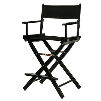 Rent Tall Black Director's Chair