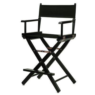 Tall Black Directoru0027s Chair