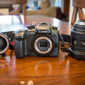 Rent Panasonic GH5 Kit with Sigma 24-70mm f2.8 and Metabones Speedbooster XL Canon Lens to Micro 4/3 Mount