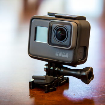 Rent GoPro Hero 6 BRAND NEW waterproof with 3x batteries, three port charger, 32gb Micro SD and so many accessories I can't keep track